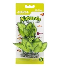 "Marina Marina Naturals Green Foreground Silk Plant - 12.5 - 15 cm (5-6"")"