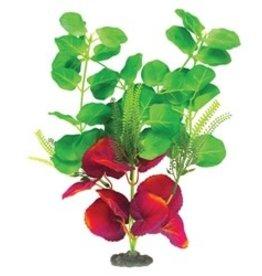 "Marina Marina Naturals Green & Deep Red Moneywort Silk Plant - Large - 33 - 35.5 cm (13-14"")"