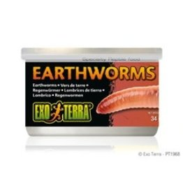 Exo Terra Exo Terra Earthworm Canned Food 34g