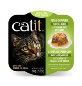Catit Catit Fish Dinner with Tilapia & Potato - 80 g (2.8 oz)