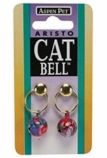 Aspen Pet Products Petmate Cat Bells 12mm 2pk Crinkled