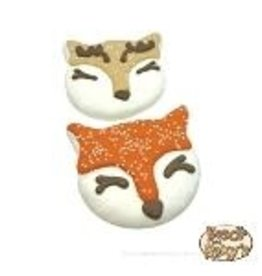 Bosco and Roxy's Bosco and Roxy's Snow Cute! Woodland Fox and Deer
