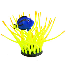 Underwater Treasures Underwater Treasures Glow Action Bubbling Blue Tang in Anemone - Yellow