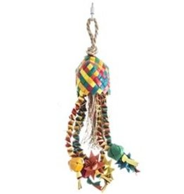 hari HARI Rustic Treasures Bird Toy Star Basket - Small