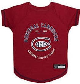 NHL Pet NHL Pet Hockey T-Shirt Montreal Canadiens XL