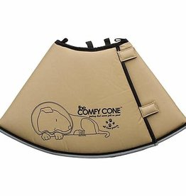 All Four Paws All Four Paws Tan Comfy Cone XS