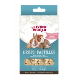 Living World Small Animal Drops Yogurt 75g