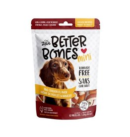 Zeus Better Bones - BBQ Chicken Flavor - Mini Bones - 24 pack