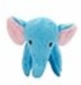 Zeus Safari Dog Toys - Blue Elephant - 16.5 cm (6.5 in)