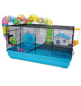 Living World Dwarf Hamster Cage - Playhouse - 58 cm L x 32 cm W x 31.5 cm H (22.8 x 12.5 x 12.4 in)