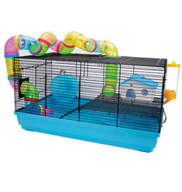 "Living World Dwarf Hamster Cage, Playhouse, 58 x 32 x 31.5 cm (22.8 x 12.5 x 12.4"")"