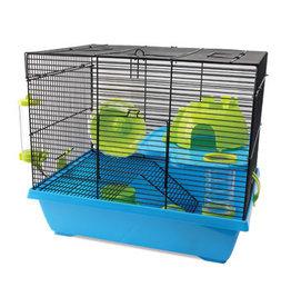 "Living World Dwarf Hamster Cage, Pad, 42.5 x 31 x 37 cm (16.7 x 12.2 x 14.5"")"