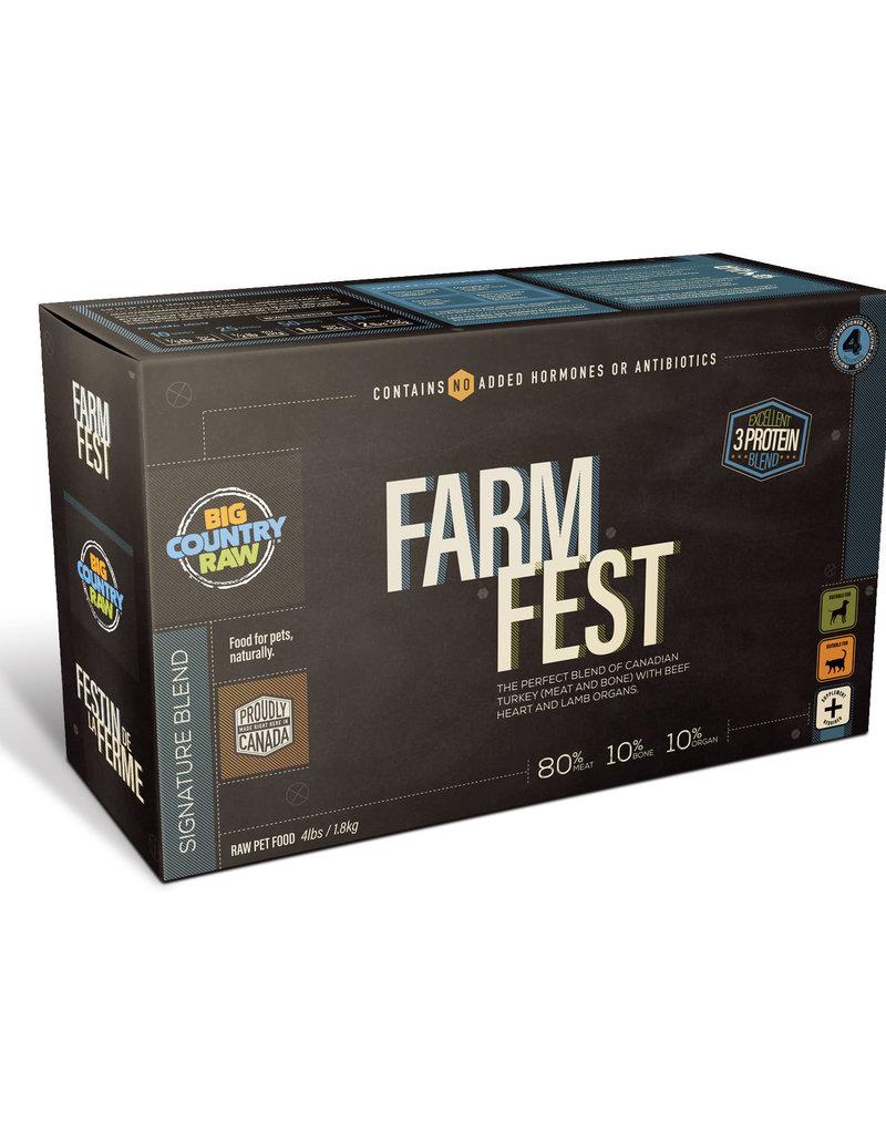 Big Country Raw Big Country Raw Farm Fest 4lb Carton