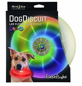 Nite Ize NITE IZE Dog Discuit LED Flying Disc