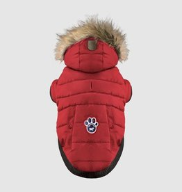 Canada Pooch Canada Pooch North Pole Parka Red 14+