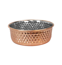 Arjan Arjan Diagonal Diamond Copper Bowl 13cm
