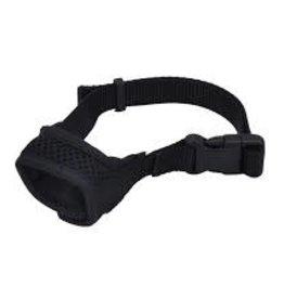 Coastal Best Fit Adjustable Comfort Dog Muzzle Black - XSmall