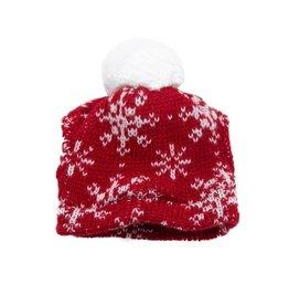 Outward Hound Outward Hound Christmas Holiday Beanie Red M/L
