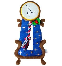 Outward Hound Outward Hound Christmas Squeaker Matz Clock Tower 18.5""