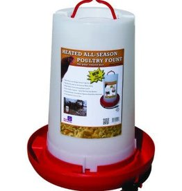 Farm Innovators Farm Innovators HPF-100 Fountain Poultry Heat Plst 3G