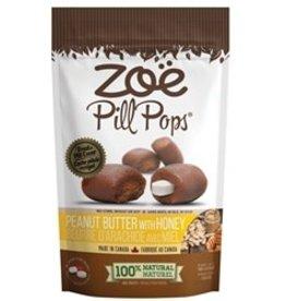 zoe Zoë Pill Pops - Peanut Butter with Honey - 100 g