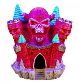 Marina Marina iGlo Skull Castle 4in