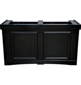 "Seapora Monarch Cabinet Stand - Black - 48"" x 18"""