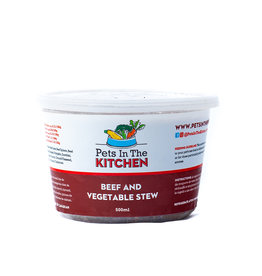 Pets In The Kitchen Pets In the Kitchen Beef and Vegetable Stew 500 ml