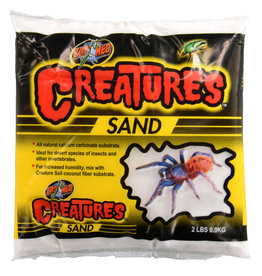 Zoo Med Zoo Med Creatures White Sand 2lb