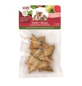Living World Small Animal Chews Guava Chips 25g