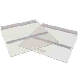 HINGED Glass Canopy 30x12