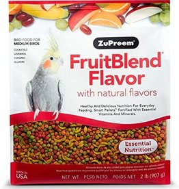 ZuPreem ZuPreem Fruit Blend Flavor - Small - 2 lbs