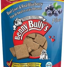 Benny Bully Benny Bully's Pure Beef Liver Plus Ready Blueberry 58g