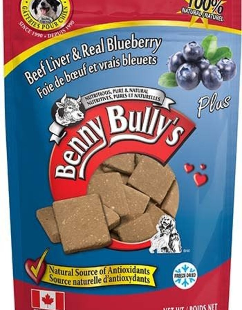 Benny Bully Benny Bully Pure Beef Liver Plus Real Blueberry