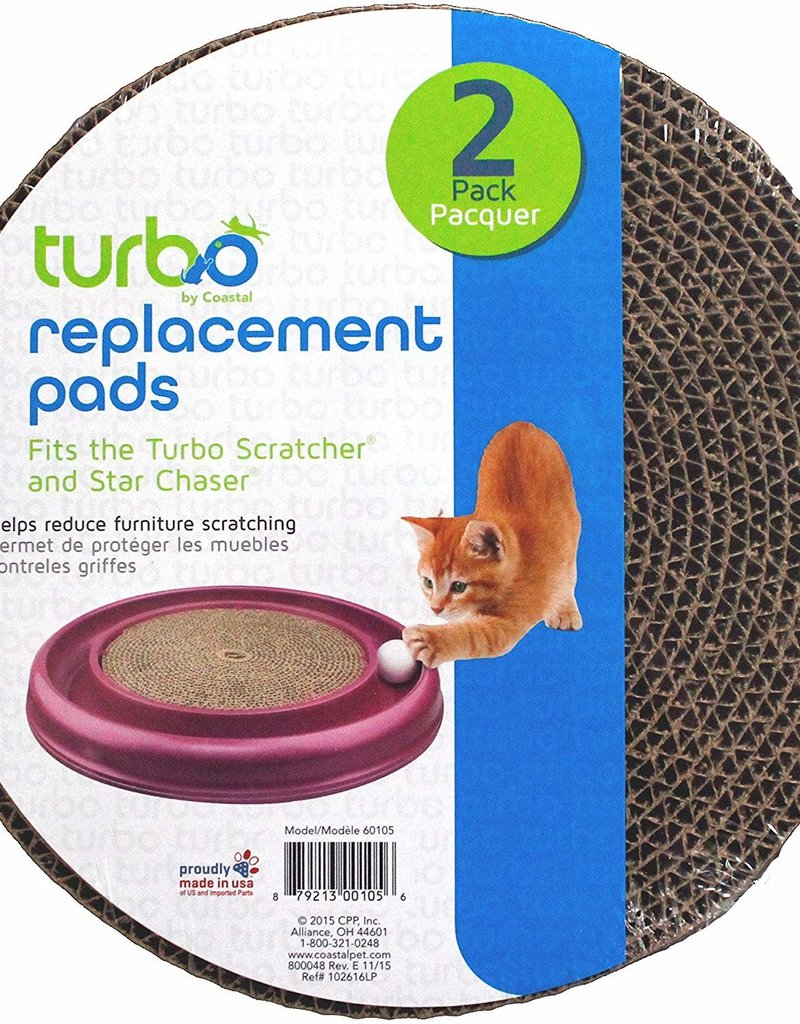 Bergan Replacement Pads for Turbo Scratcher 2pk