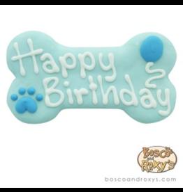 Bosco and Roxy's Bosco and Roxy's Birthday Happy Birthday Bone Blue