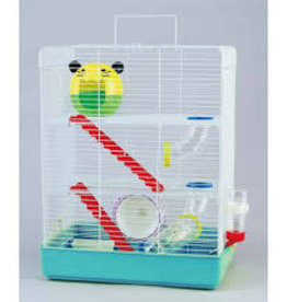 Critter Bunch Hamster Cage Set 3 Story
