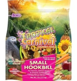 Tropical Tropical Carnival Small Hookbill Food 5lb