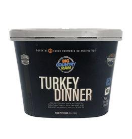 Big Country Raw Turkey Dinner TUB – 4 lb