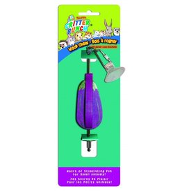 The Critter Bunch Eggplant Wood Chew with Skewer