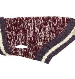 RC Pets RC Pets Cabin Sweater XL Burgundy Melange