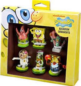 Penn Plax Penn Plax Spongebob Aquarium Ornaments - Mini 6pc.