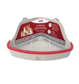 Living World Small Animal Litter Pan Grey S
