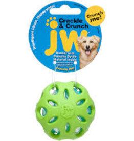 JW Crackle Head Crackle Ball Med