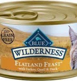 Blue Buffalo Blue buffalo flatland feast 3OZ