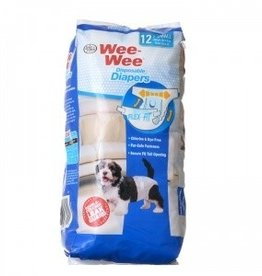 Four Paws Wee-Wee Diapers X-Small 12pck