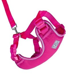 RC Pets RC Pets Adventure Kitty Harness L Raspberry