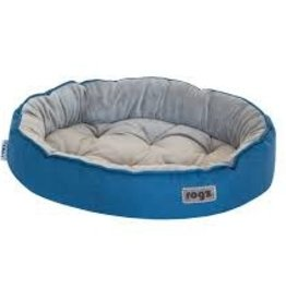 rogz Rogz Medium Cuddle Oval Pod Blue 22x15x5