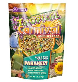 Tropical Carnival Gourmet Parakeet Food 2 lb