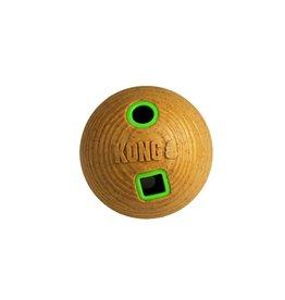 Kong KONG Bamboo Feeder Ball Med Tan